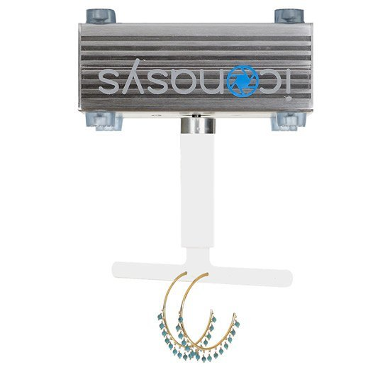 360 Jewelry Photography Turntable Double Earring Holder