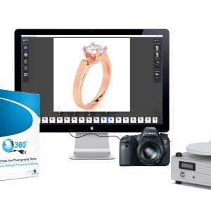 360 Jewelry Photography Turntable System 2