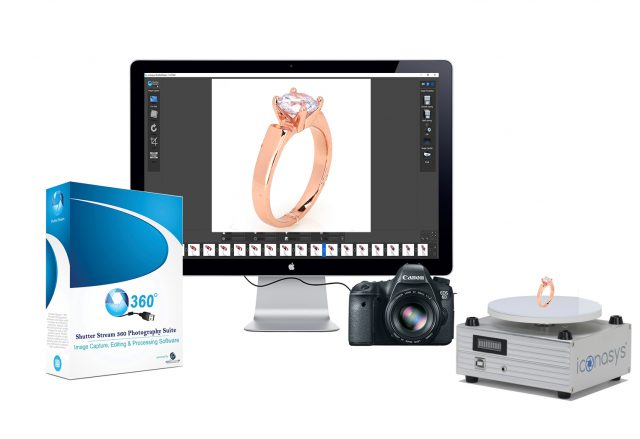 360 Jewelry Photography Turntable System