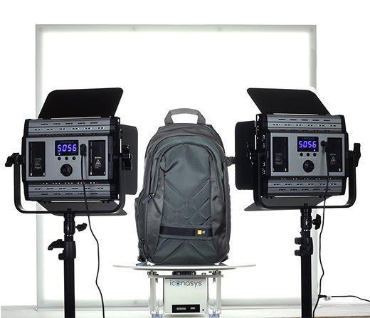 360 Product Photography Turntable: Lighting