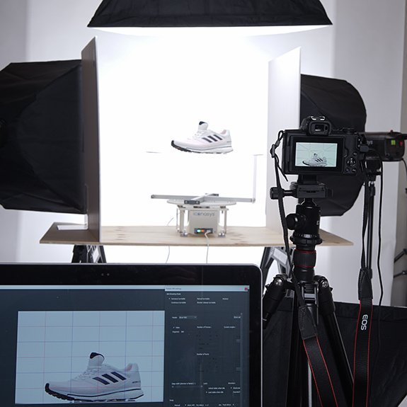 360 product photography from 360 product video extract