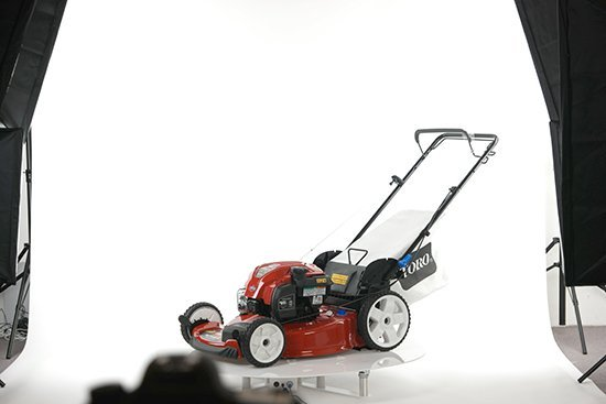 360 Product Spin Example: Lawnmower
