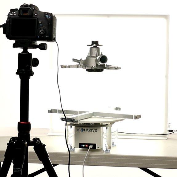 360 auto parts photography