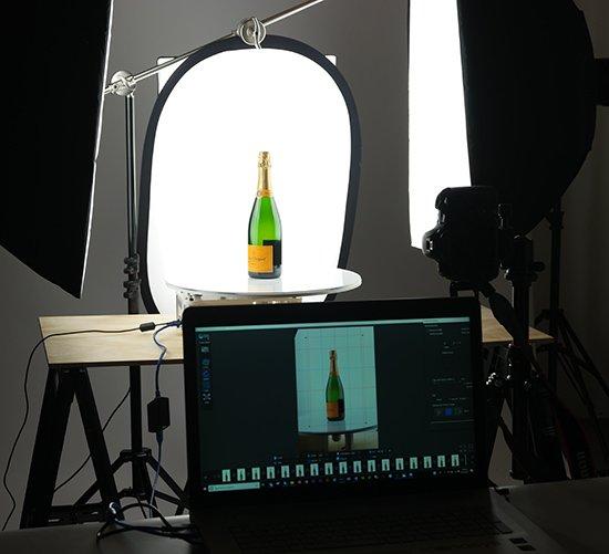 360 bottle photography