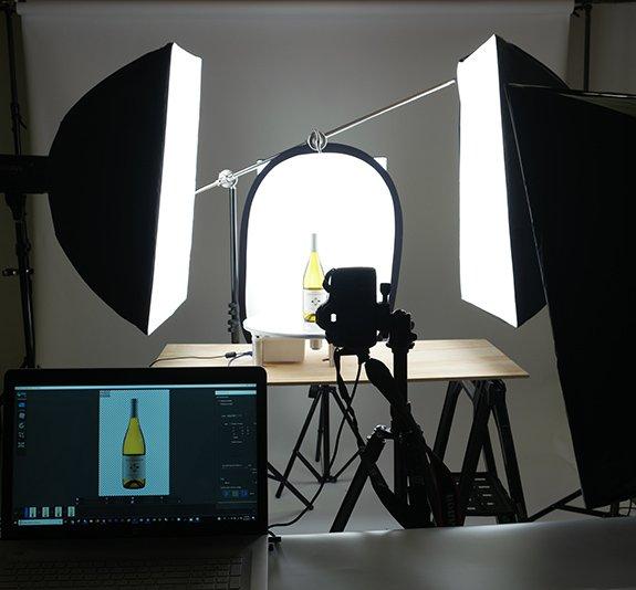 360 Degree Product Photography Studio Lighting