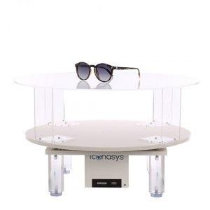 360 Photography Turntable - Clear Acrylic Riser 03