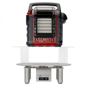 360 Photography Turntable - Clear Acrylic Riser 05