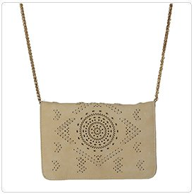 360 product photography: Hanging purse example