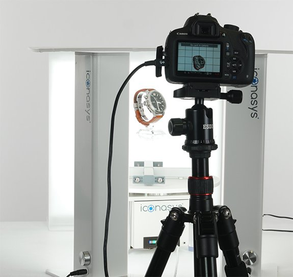 360 Product Photography of a Watch Studio Set up