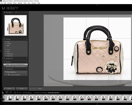 360 Product Photography using Adobe Lightroom 05a