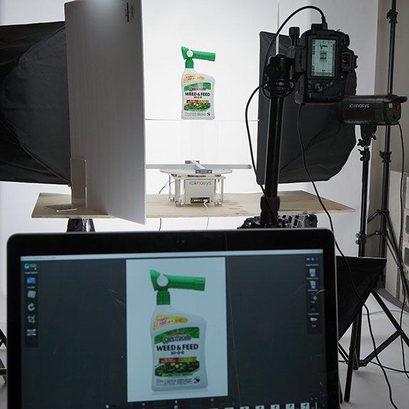 360 product photos studio