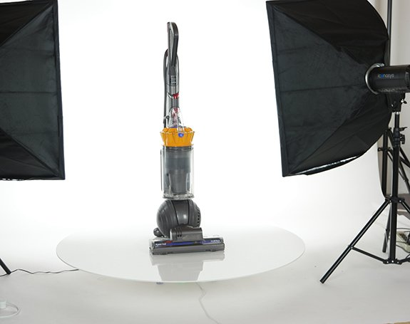 360 product view example: Dyson Vacuum