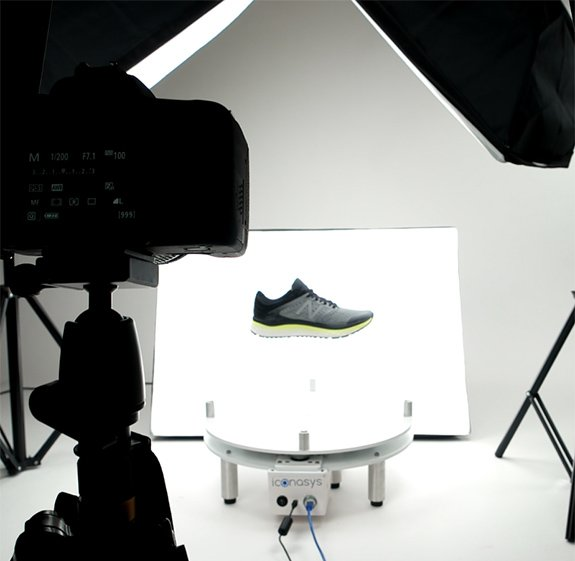360 shoe photography example