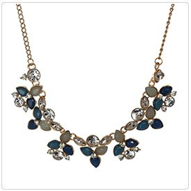 360 Spin Product View: Hanging Flower Necklace