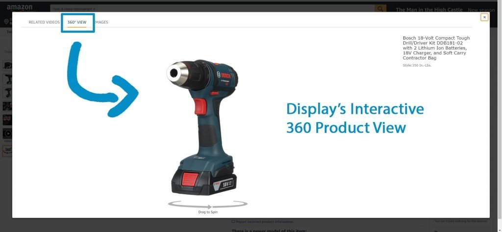 360 Product Photography in Amazon Product Listings 02