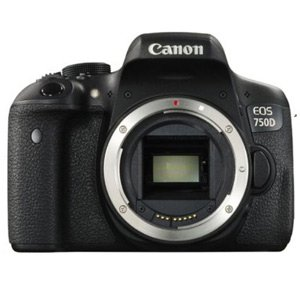 Canon Rebel T6i / 750D Camera Software