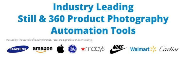 Why Iconasys for still and 360 Product Photography