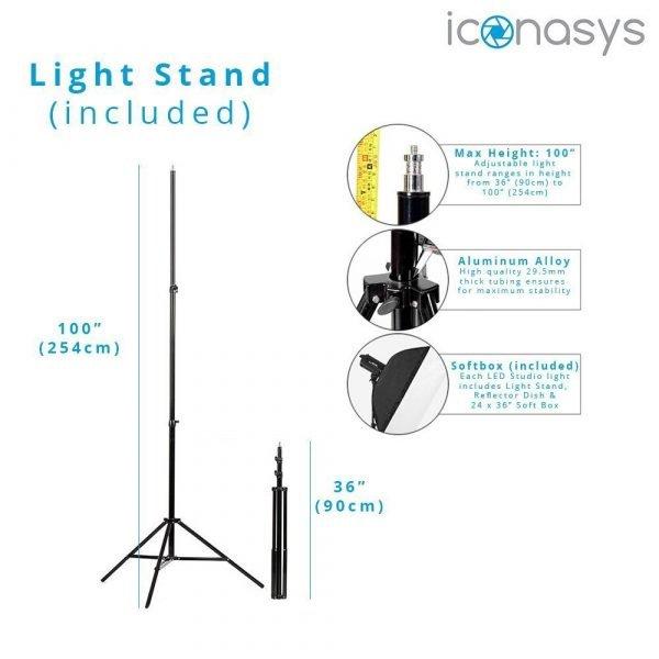Iconasys LED Studio Light 06