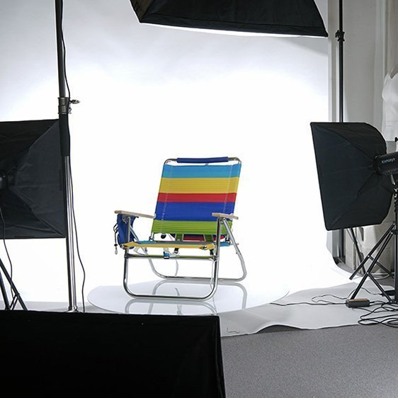 LED Studio Lights for Product Photography with White Background 02