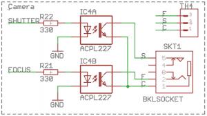 Multi Camera Remote Trigger Switch 8