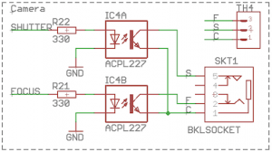 Multi Camera Remote Trigger Switch 10