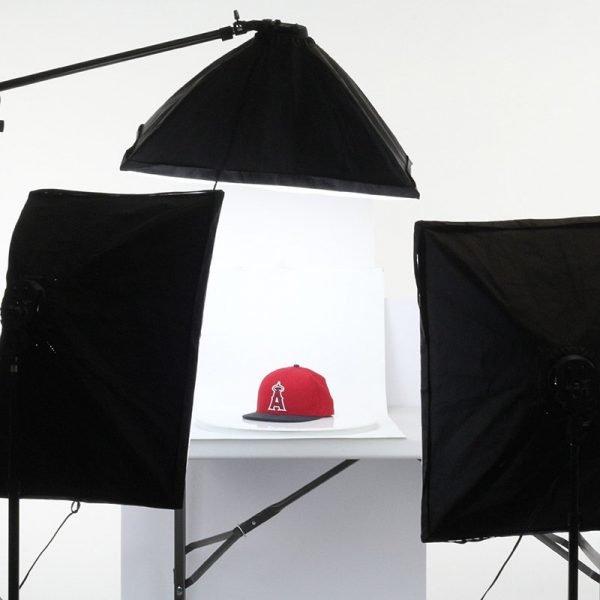 product photography turntable lighting