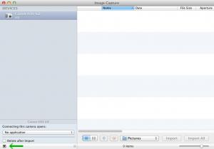 apple image capture application