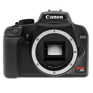 Canon EOS 1000D/Rebel XS - Camera Software