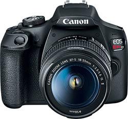 Canon Rebel T7 / EOS 2000D: Camera Capture Software