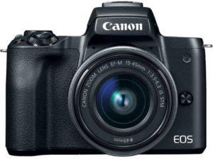 Canon EOS M50 / Kiss M: Capture Software