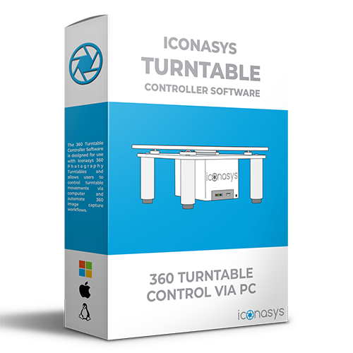 360 Photography Turntable Controller Software