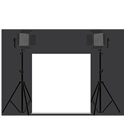 Large LumiPad 360 Product Photography Lighting Kit