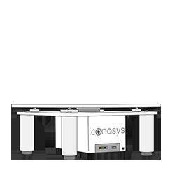 Iconasys Silver LRG 360 Photography Turntable