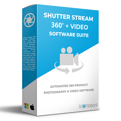 Shutter Stream 360 Product Video Software