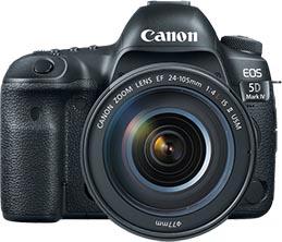 Canon EOS 5D Mark IV Camera Control Software