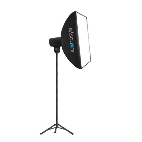 Iconasys LED Studio Light - Product Photography with White Backgrounds
