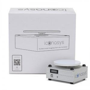 iconasys silver series 360 jewelry photography turntable training