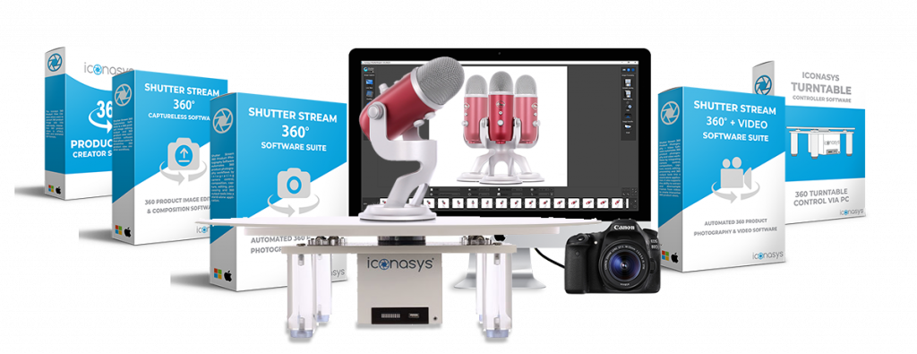 About Iconasys: Still & 360 Product Spin Photography Solutions