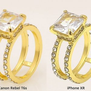 Jewelry Photography - smartphone vs. professional camera