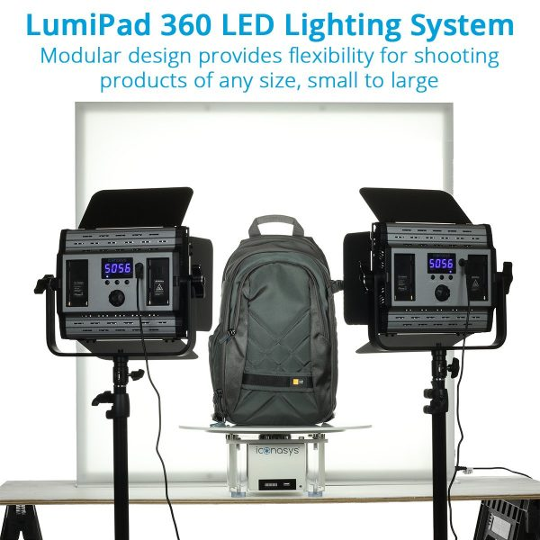 Large LumiPad 360 Product Photography Lighting System - 002