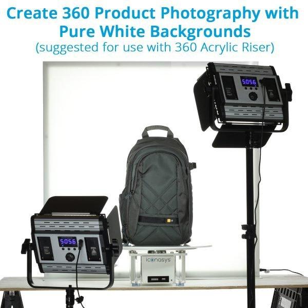 Large LumiPad 360 Product Photography Lighting System - 001b