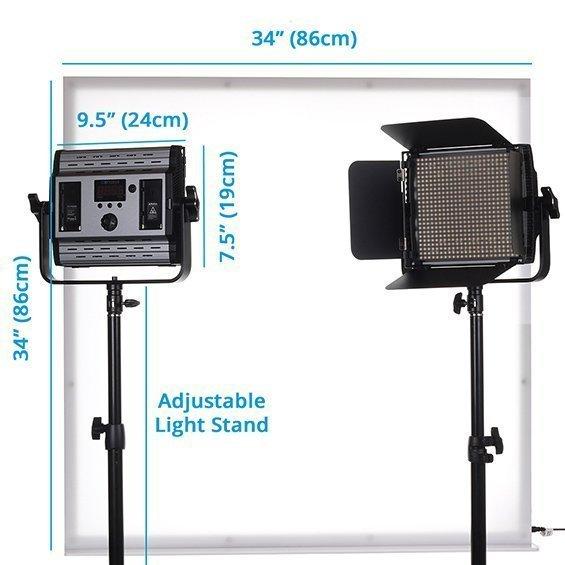 Large LumiPad 360 Product Photography Lighting Kit 04