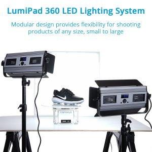 Medium LumiPad 360 Product Photography Lighting 3