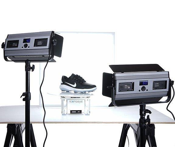 Medium LumiPad 360 Product Photography Lighting Kit 1