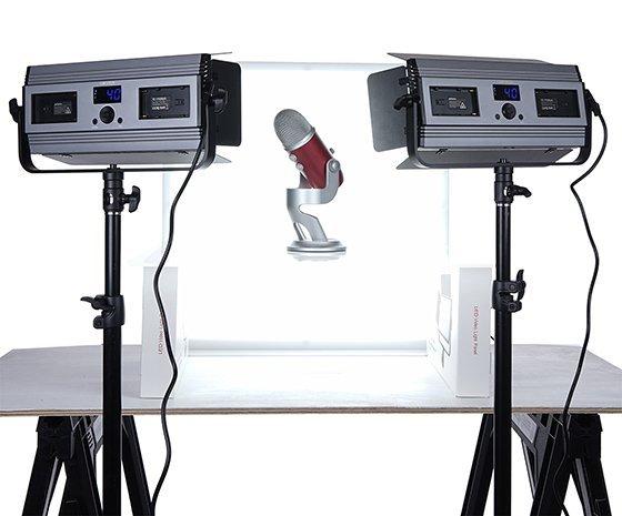 Medium LumiPad 360 Product Photography Lighting Kit 2