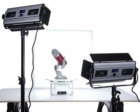 Medium LumiPad 360 Product Photography Lighting Kit 4