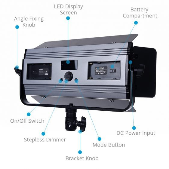 Medium LumiPad 360 Product Photography Lighting Kit 5
