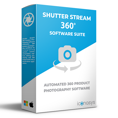 professional 360 product photography software