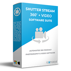Shutter Stream 360 + Video Product Photography Software - 250px