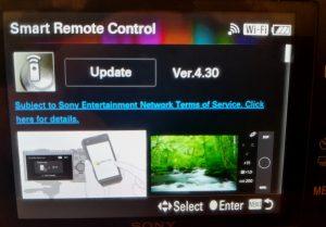 Sony camera firmware update 07